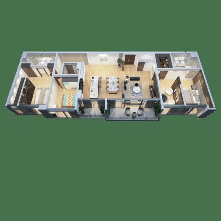 Căn Penthouse Mẫu 03