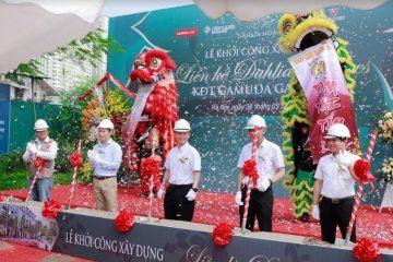 Lễ khởi công dự án liền kề DAHLIA HOMES – Khu đô thị GAMUDA GARDENS