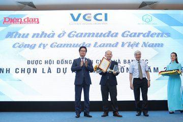 """Gamuda Land Việt Nam tự hào được vinh danh""""Dự án đáng sống 2019"""""""