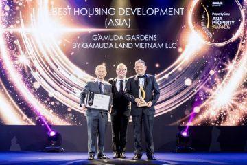 Gamuda Gardens nhận giải 'Dự án nhà ở tốt nhất châu Á'